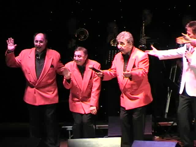 "Danny And The Juniors in concert with the Dovells at ""Rock And Roll Is Here To Stay"" concert 2006"